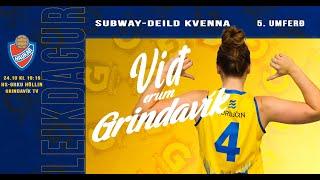 <p>Leikur í Subwaydeild kvenna 24. október 2021 frá HS Orku Höllinni.</p>