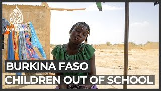 Human rights watch says the armed conflict in west africa's burkina faso has forced 350,000 children out of school.the international agency's report s...