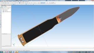 Компас 3D уроки - патрон 7,62x54