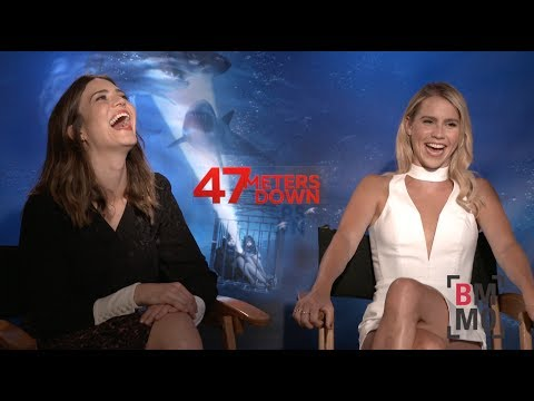 Mandy Moore & Claire Holt   47 Meters Down