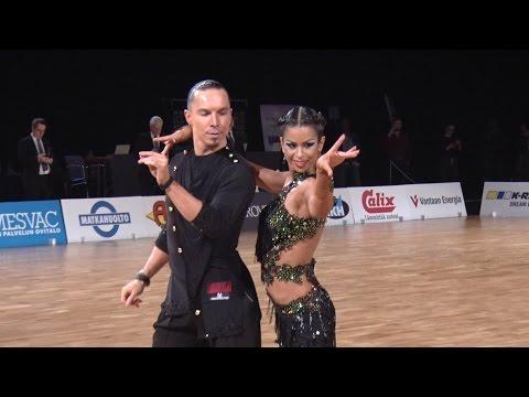Finland Open 2016 | Igal Ginzburg - Sofia Savostianov | Samba
