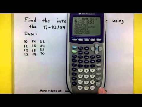 Statistics - Compute The Interquartile Range Using The TI-83/84 Calculator
