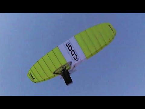RC Paragliding: Hacker RC COOL 1.7 Jungfernflug und Nachtflug im November2014