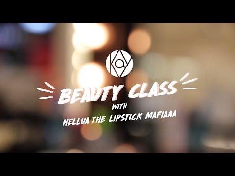 Kay Collection Beauty Class with Hellua The Lipstick Mafiaa