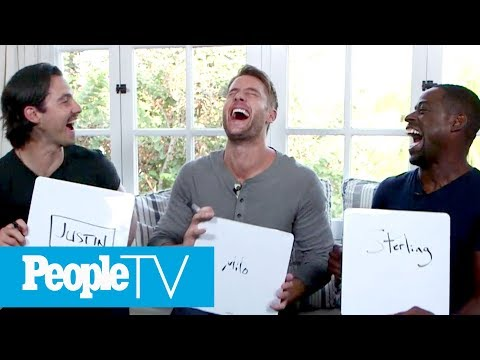 'This Is Us' Men Reveal Who's Most Sexiest, Has The Most Infectious Laugh & More | PeopleTV