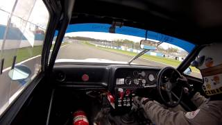 John Young 2013 Donington Historic Festival (Ford Cologne Capri)