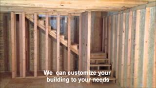 2 Story Cabin Barn