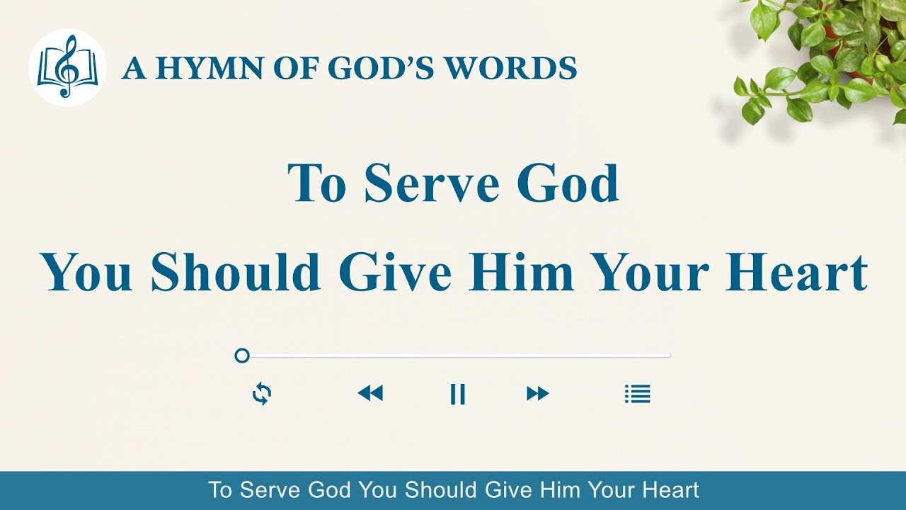 """2020 Christian Devotional Song   """"To Serve God You Should Give Him Your Heart"""""""