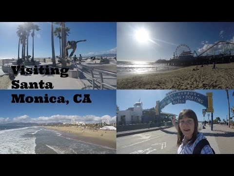 Visiting Santa Monica: Los Angeles County, California USA