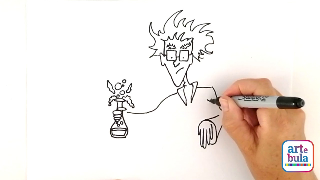 How to Draw a Mad Scientist