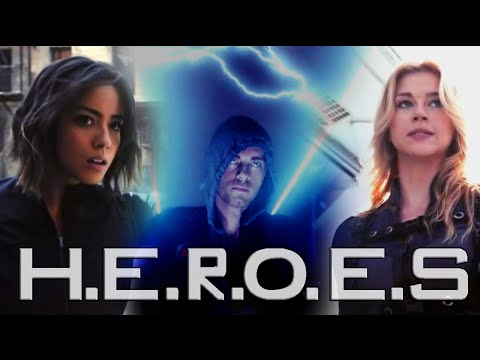 agents of shield | heroes of our time