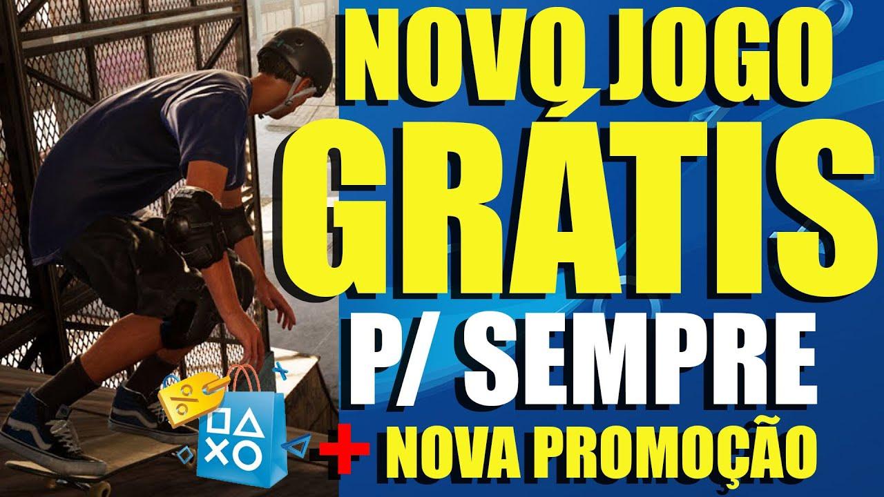 NOVO JOGÃO GRÁTIS PRA SEMPRE E PRA TODOS! e NOVA SUPER PROMOÇÃO NA PSN!