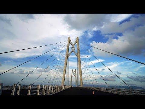 Construction of China's super project HKZM bridge enters last phase