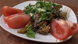 Как приготовить говяжий рубец с грибами  (в азиатском стиле).