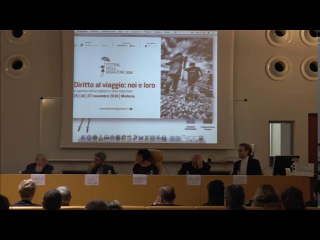 Festival della migrazione 2016 - intervento di Francesco Remotti - prima parte
