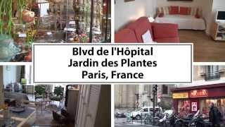 Video Tour of a 1-Bedroom Vacation Rental in Jardin des Plantes, Paris
