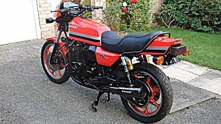 """That """"TA DAH"""" Moment..1982 Kawasaki GPz1100 B2 finished restoration"""