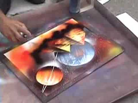 Spray Art -- Miguel Valenzuela
