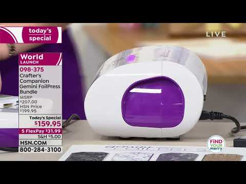 HSN | Crafter's Companion 11.06.2018 - 12 AM