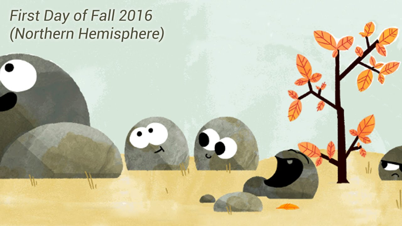 Autumnal Equinox - First day of Fall 2016 - Google Doodle