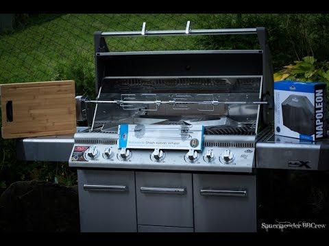 Napoleon Holzkohlegrill Pro 605 Edelstahl : Bbcrew roadmovie besuch bei napoleon gourmet grills