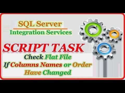 SSIS -  Validate Processing Flat File Format || Check Columns Name and Columns Order