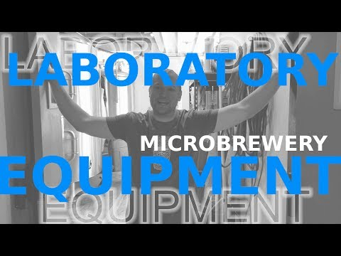 LABORATORY EQUIPMENT! Beer Microbrewery!!
