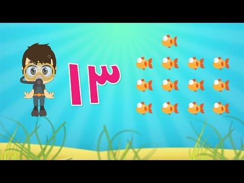 Learn Arabic Numbers for kids 10 -20 / تعلم الأرقام ...