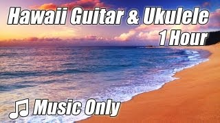 HAWAIIAN MUSIC Relaxing Ukulele Acoustic Guitar Playlist Hawaii Songs Instrumental Folk a