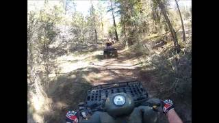 Lassen County Quad Adventure (Go Pro)