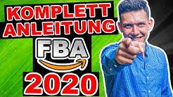 Amazon FBA Schritt für Schritt 2020 - DEUTSCH