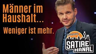 """Florian Schroeder: """"Männer im Haushalt – weniger ist mehr!"""""""