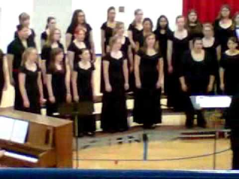 Iroquois west high school choir 2011