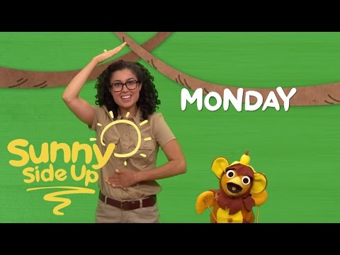 Sunny Side Up, Kids Songs: Days of the Week with Chica and Carly | Universal Kids
