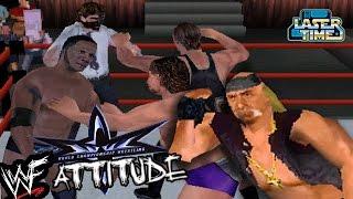 WWF Attitude vs WCW Backstage Assault - POLYGON PANDEMONIUM