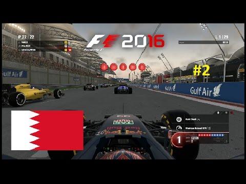 F1 2016 - Max Verstappen Career Mode - Round 2 - Bahrain
