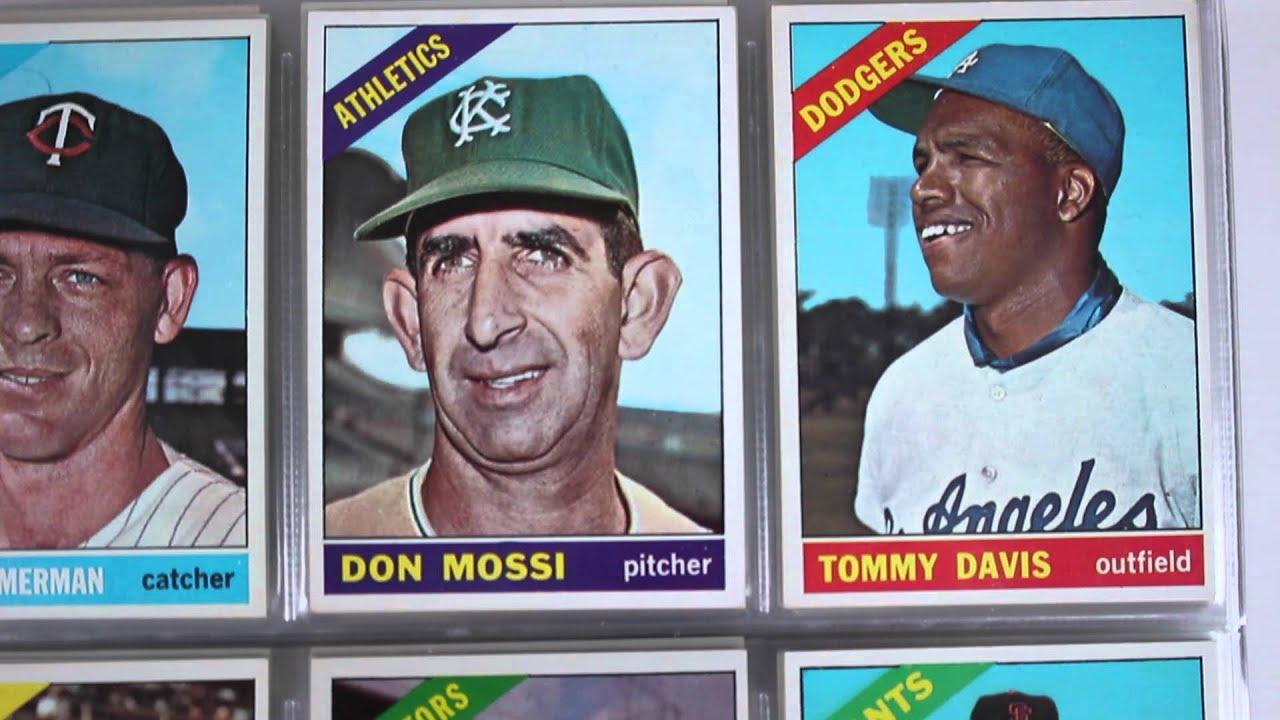 1966 Topps Baseball Card Set