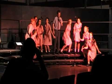Shake your Tail Feather - 8/9 choir St Johns Grammar School (SAB)