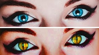 How To Create Awesome Cat Eyes in Photoshop!