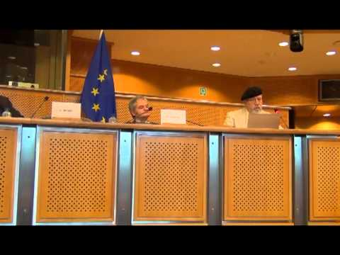 Prof Chris Busby at the European Parliament 2013