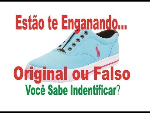 Fórmula do Importador - Tênis Polo Ralph Lauren - Original ou Falso ... c70a74200d8