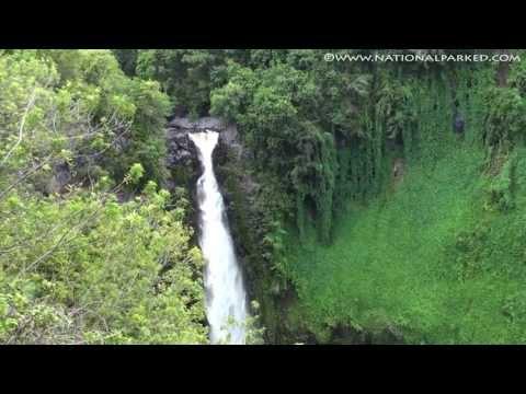 Makahiku Falls in Haleakala National Park (1080p)