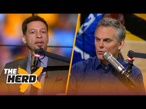 Chris Broussard and Colin Cowherd react to Lonzo Ball's Lakers debut  THE HERD