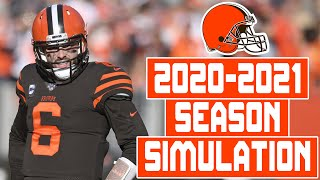 Cleveland Browns 2020-2021 Season Simulation (Madden with Updated Rosters)
