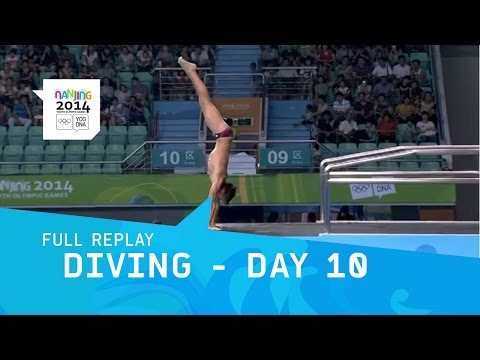 Diving - Day 10 Men's 10m platform Final | Full Replay | Nan