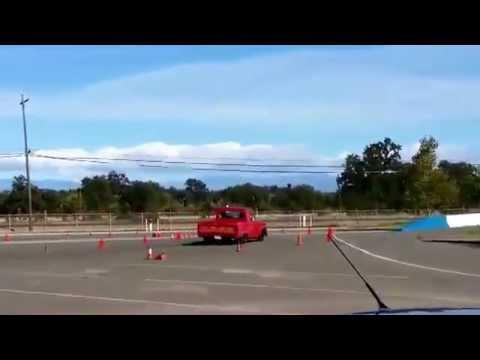 Repeat 1964 F100 Autocross, run 3, shop truck build, crown