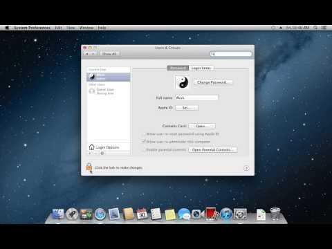 How To Change Startup Programs On Mac