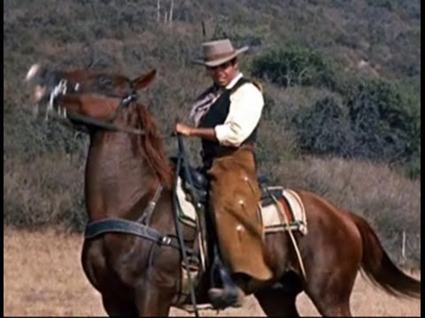 """Pernell Roberts sings """"They Call The Wind Maria"""" [With Lyrics] Scenes Adam Cartwright- Bonanza"""