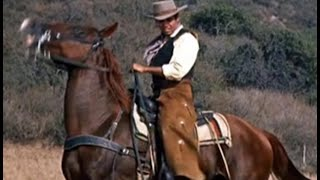 "Pernell Roberts sings ""They Call The Wind Maria"" [With Lyrics] Scenes Adam Cartwright- Bonanza"