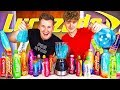 BROTHERS BLEND AND TASTE EVERY FLAVOUR OF LUCOZADE